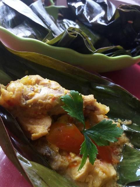 Resep pepes ayam ala rumah makan ciwidey
