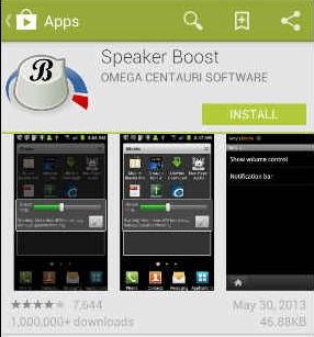 Speaker Boost App