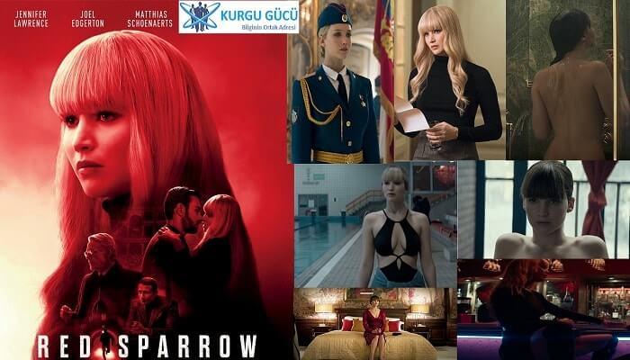 Jennifer Lawrence'lı Kızıl Serçe - Red Sparrow Film İncelemesi - Kurgu Gücü