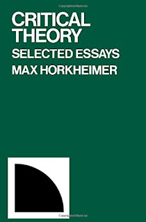 Max Horkheimer, Critical Theory. Selected Essays