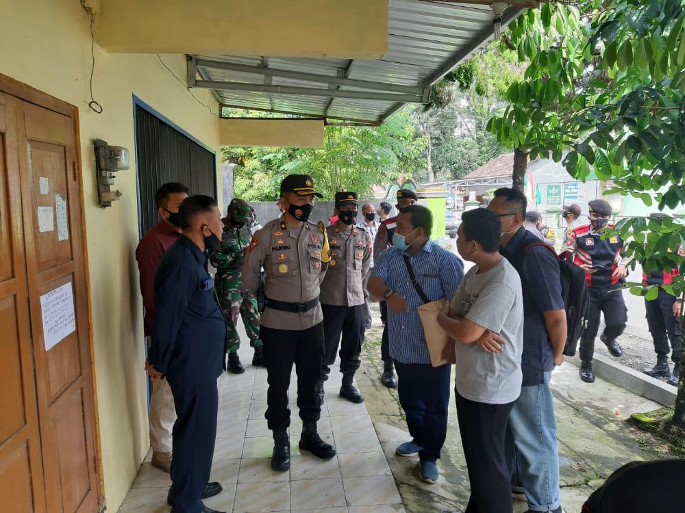 43 Personel Gabungan TNI-Polri Amankan Eksekusi Tanah dan Bangunan di Kemangkon