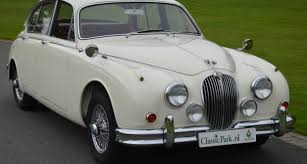 A Mark II Jaguar similar to mine