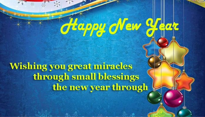 Happy New Year SMS, Message in Hindi