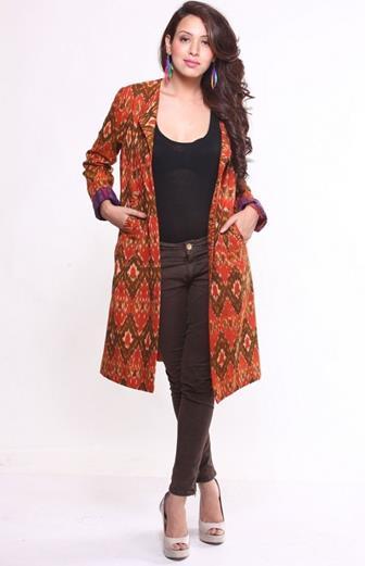 Bolero Batik Lengan Panjang Yang Modern Dan Modis