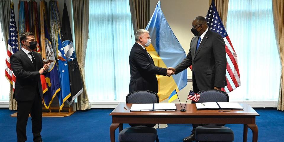 Підписано Рамкову угоду щодо оборонного партнерства між міноборони України та США