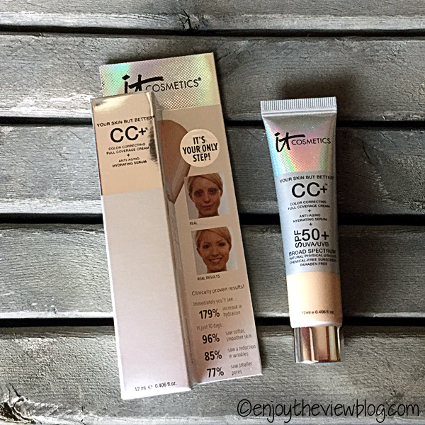 travel-size tube of IT Cosmetics Your Skin But Better™ CC Cream