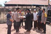 499 KK di Indrapuri Terima Bantuan dari Polda Aceh