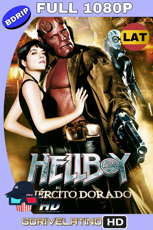 Hellboy II: el ejército dorado (2008) BDRip FULL 1080p (Latino-Inglés) MKV
