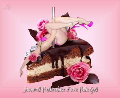 pole dance lola plumeti journalpolegirl.blogspot.com sexy dessert sweet candy