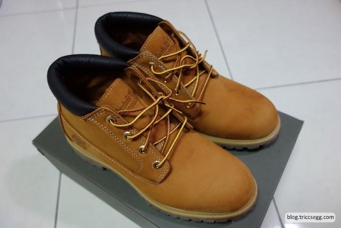[開箱]Timberland男款短版經典黃靴23061-下雨天的好夥伴,永不打折的經典款!