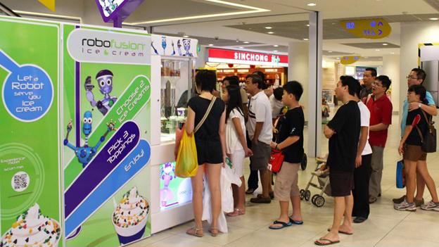 Vending Machine Unik Yang Ada Di Singapura