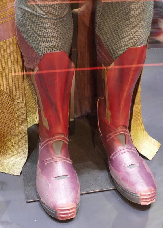 Avengers Vision costume boots