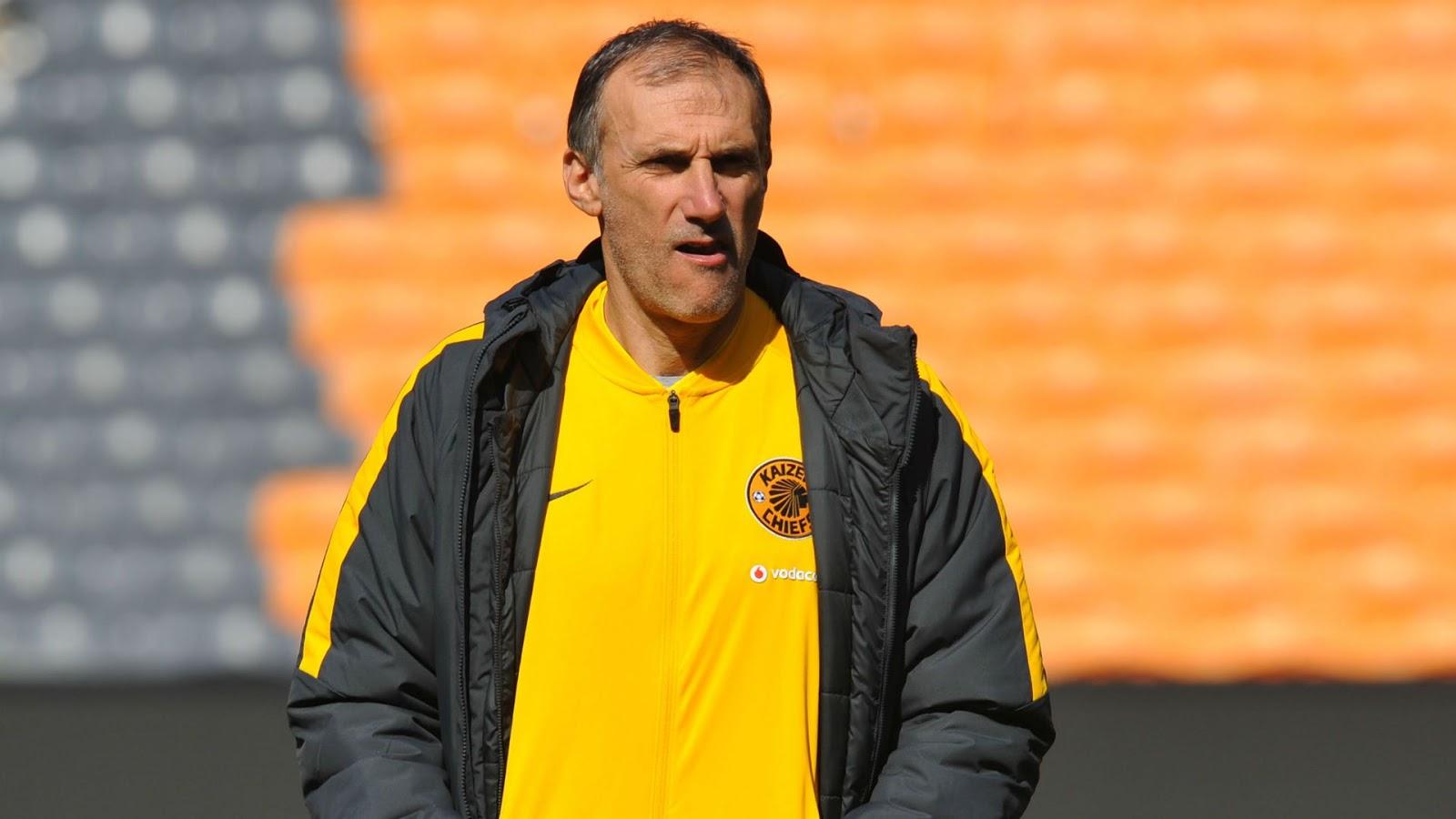 Former Kaizer Chiefs coach Giovanni Solinas