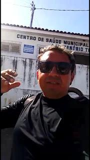 Repórter do povo Dr. Padrak denúncia falta de medicamentos em PDF de Guarabira