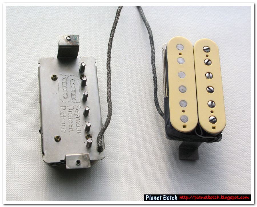 PAF type replacement humbucking pickups