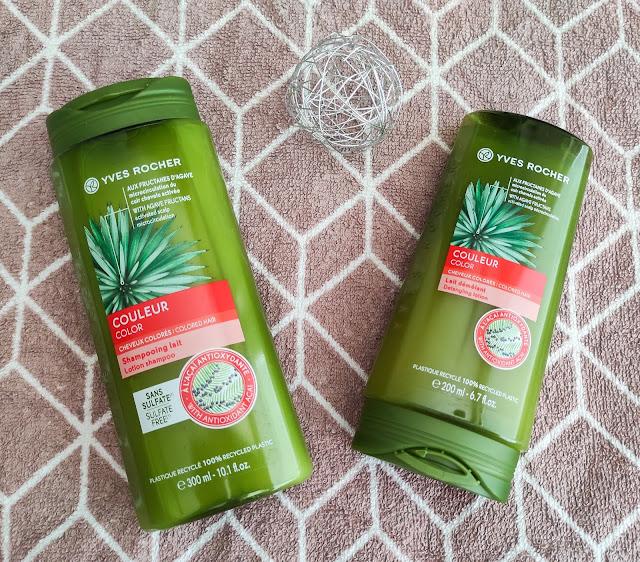 Šampon a kondicioner na barvené vlasy Yves Rocher