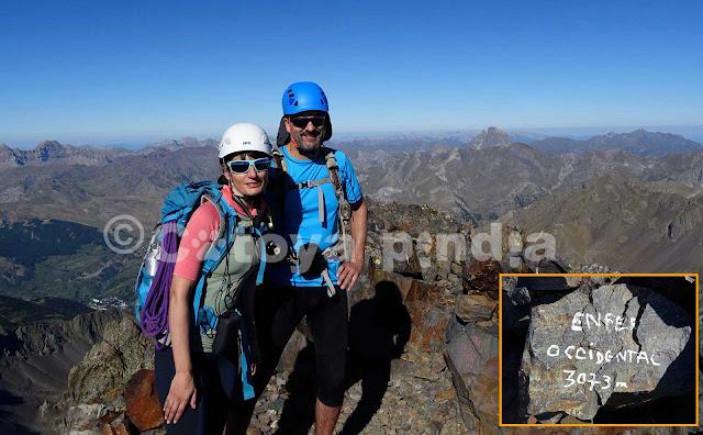 Rutas por Pirineos; Pico de los Infiernos