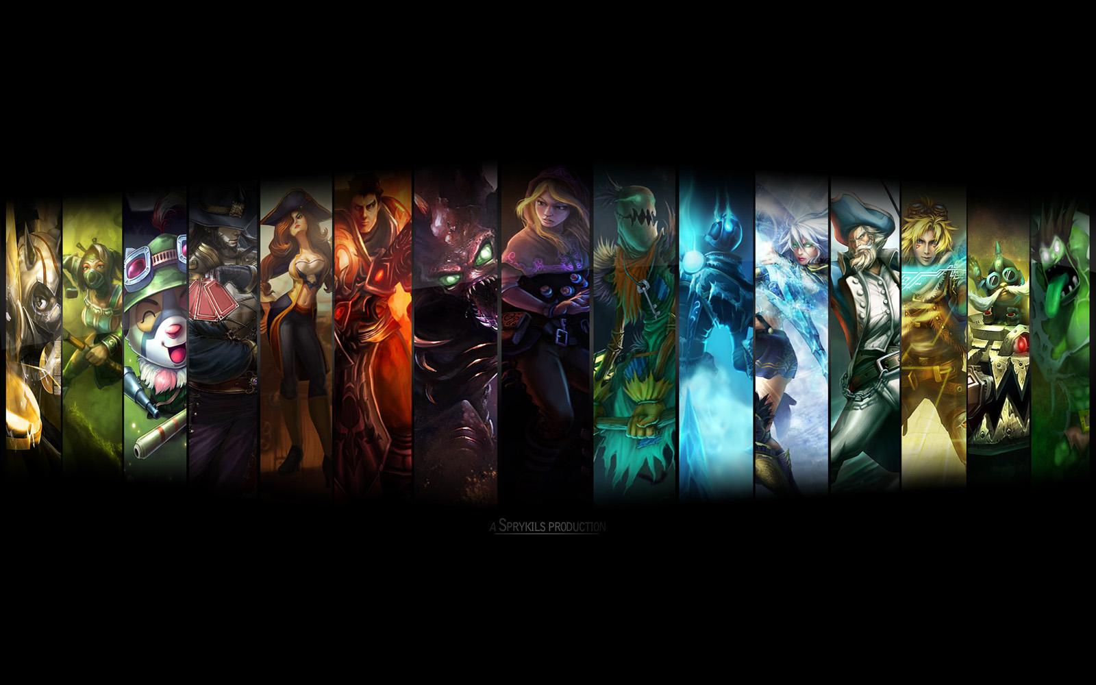 League Of Legends Argentina: Fondos De Pantalla II