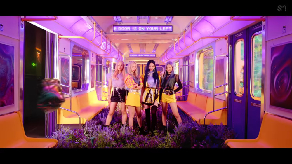 aespa Presents a Colorful And Thrilling Teaser for The 'Black Mamba' MV
