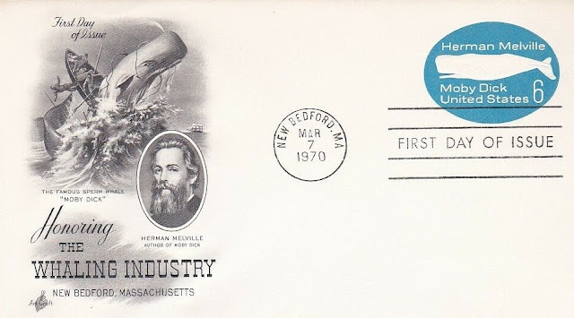 Moby Dick Herman Melville First Day Cover