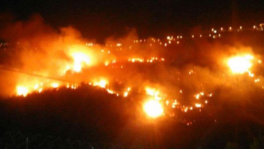 رعب فى إسرائيل بعد إخماد الحرائق من كارثة جديدة..