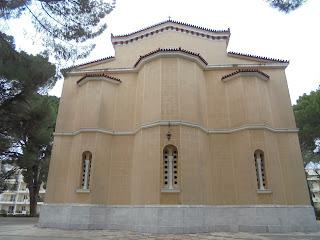 ο ναός της Ευαγγελίστριας στην Σπάρτη