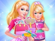 Bags are especially important for a girl as they hold our most important and useful items that we will use throughout the day. Barbie and her sister, Kelly love bags and they are now looking to get some stylish new bags. They also want the bags to match each other because they get along so well and they often like to coordinate their outfits. Design it so it matches Barbie's bag and help the sisters be the most stylish duo!