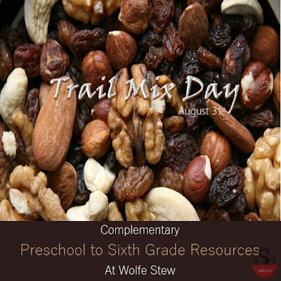 Related learning activities for preschool to sixth grade