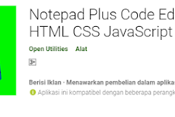 Latihan Menulis HTML