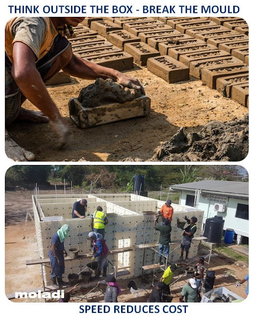 moladi superior building technology reduces high costs of conventional masonry construction