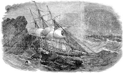 RMS Tayleur wrecking