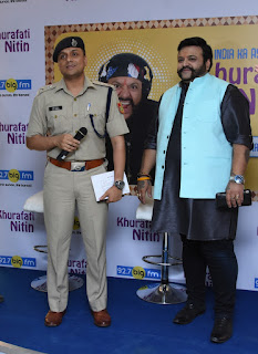 92.7 BIG FM ENTERTAINS DELHI WITH 'EVENING SHOW WITH KHURAFATI NITIN'