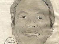 "Karikatur ""Ganjar Sapu Bersih Korupsi"" karya Boedy HP"