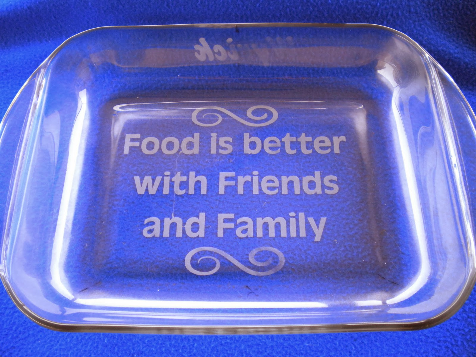 2 Quart Cooked with Dragonfire Etched Casserole Dish