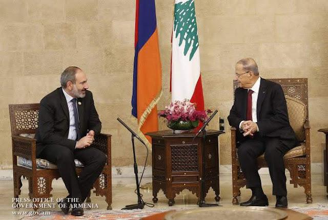 Líderes del Líbano y de Armenia listos para fortalecer lazos