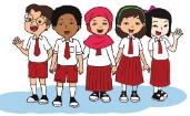 Download Soal Latihan UAS Tematik Kelas 1 SD tema 1 kurikulum 2013/ K 13 plus jawaban dan kisi kisi