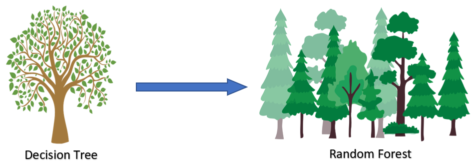 Decision Tree vs Random Forest
