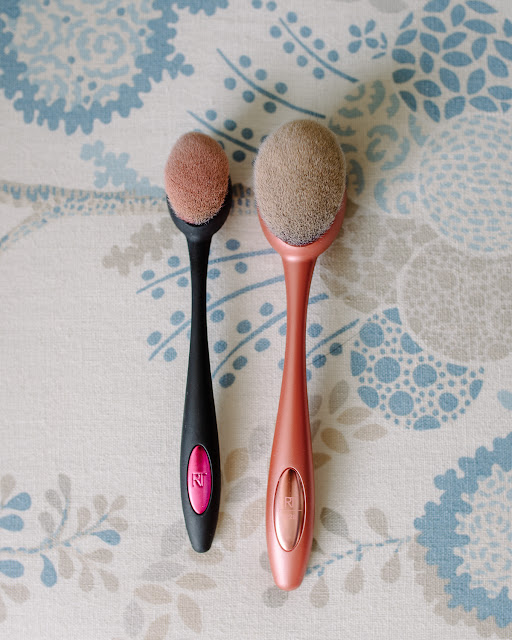 Real Techniques Contour Brush and Real Techniques Foundation Brush