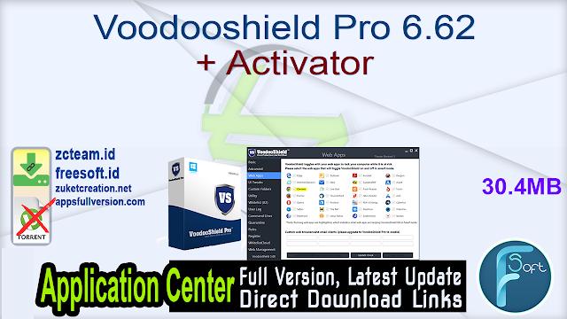 Voodooshield Pro 6.62 + Activator_ ZcTeam.id