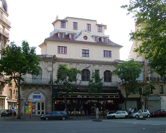 Bataclan theatre by Charles Duval, boulevard Voltaire, quartier Saint-Ambroise, Paris