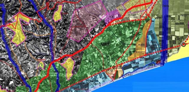 Ενημέρωση Αθανασόπουλου για την εξέλιξη της μελέτης στην περιοχή ΛΠ3 του Γ.Π.Σ. Μεσσήνης