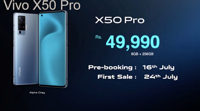 Latest Phone Vivo X50 Pro Price Review In India And Features