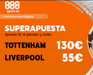 888sport superapuesta Final Champions Tottenham vs Liverpool 1 junio 2019