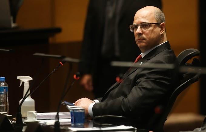Wilson Witzel não é mais Governador do RJ.