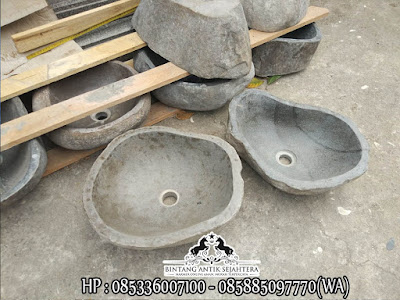 Wastafel Asli Batu Kali | Wastafel Batu Alam Malang