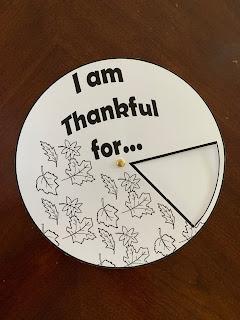 Gratitude Wheel
