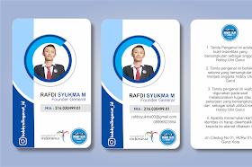 Desain ID Card Keren Untuk Panitia Format CDR Gratis Download