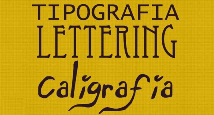 Tipografia Caligrafia e Lettering