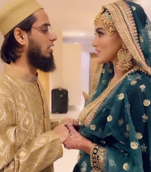 Sana Khan Honeymoon