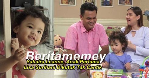 Yahaira Leanne, Anak Pertama Lisa Surihani Dikutuk Sebab Tak Cantik.. Kurang Ajar, Mulut Longkang